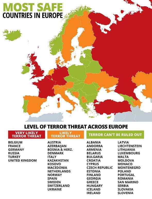 Quốc gia an toàn ở châu Âu
