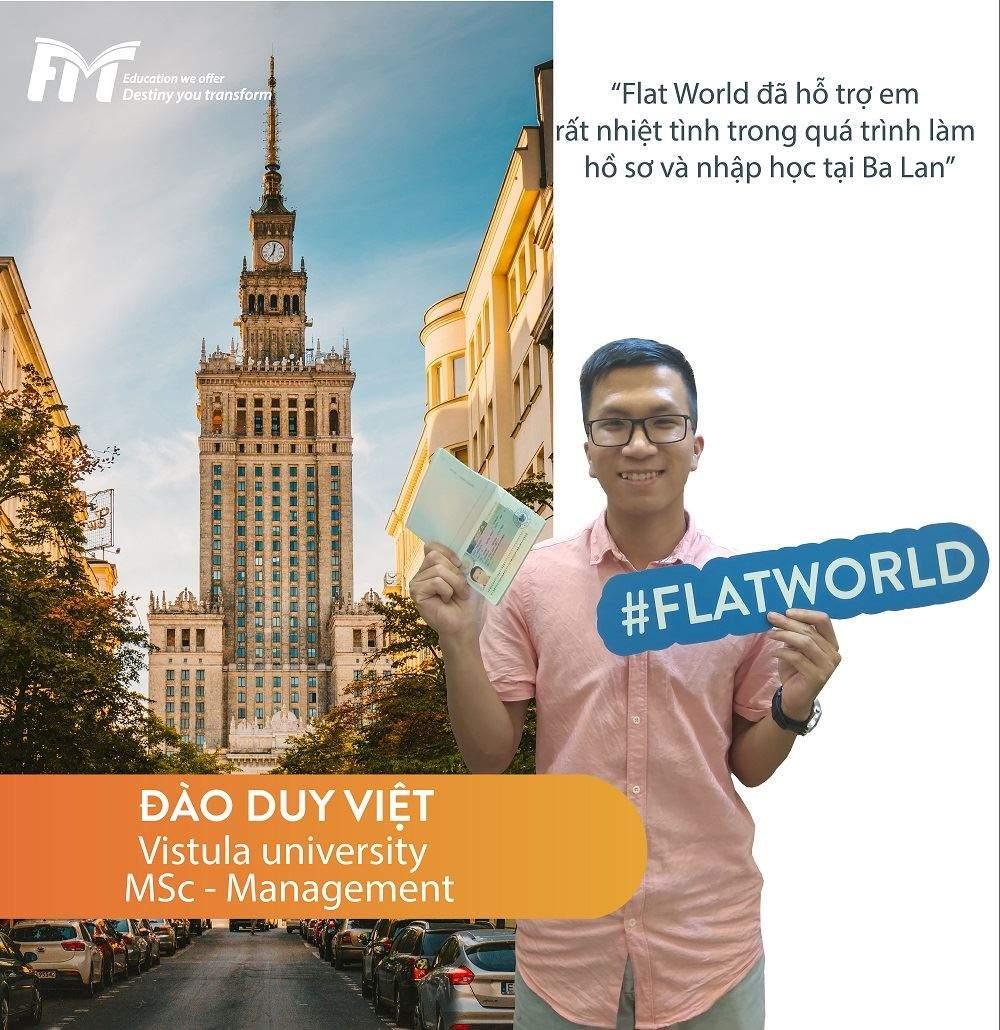 Đào Duy Việt - Du học sinh Ba Lan của Flat World
